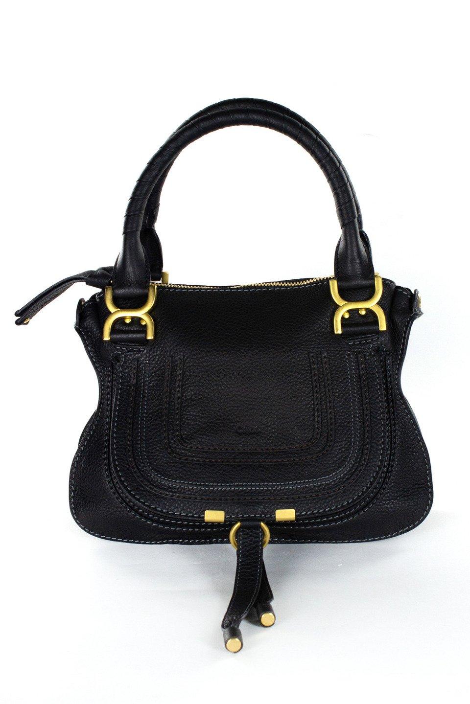 Chloe Leather Handbag IV in Black