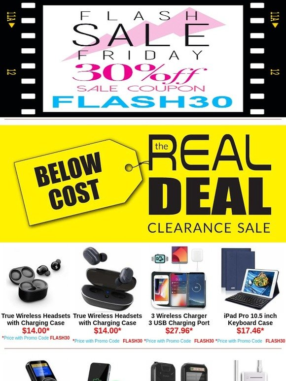 HDAccessory com: BELOW COST! The Real Deal Clearance Sale    Milled