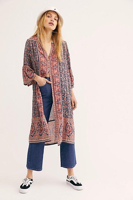 Jasmine Midi Tunic Dress