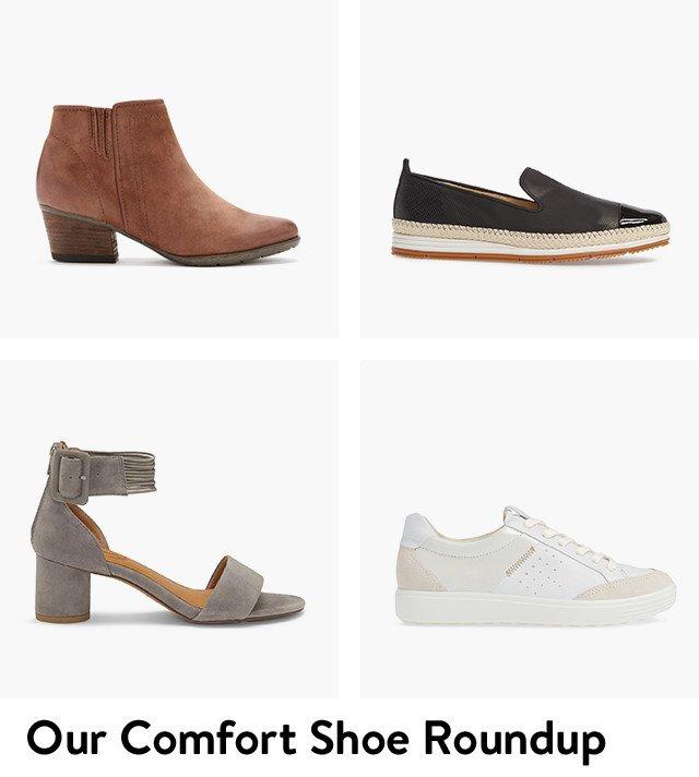 Women's comfort shoes.
