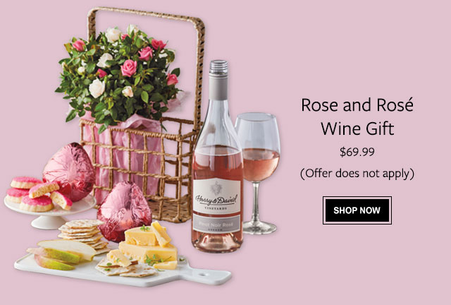 Rose and Rosé Wine Gift