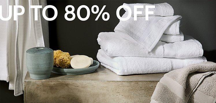 Great White Bedding Sale: Bath Edition