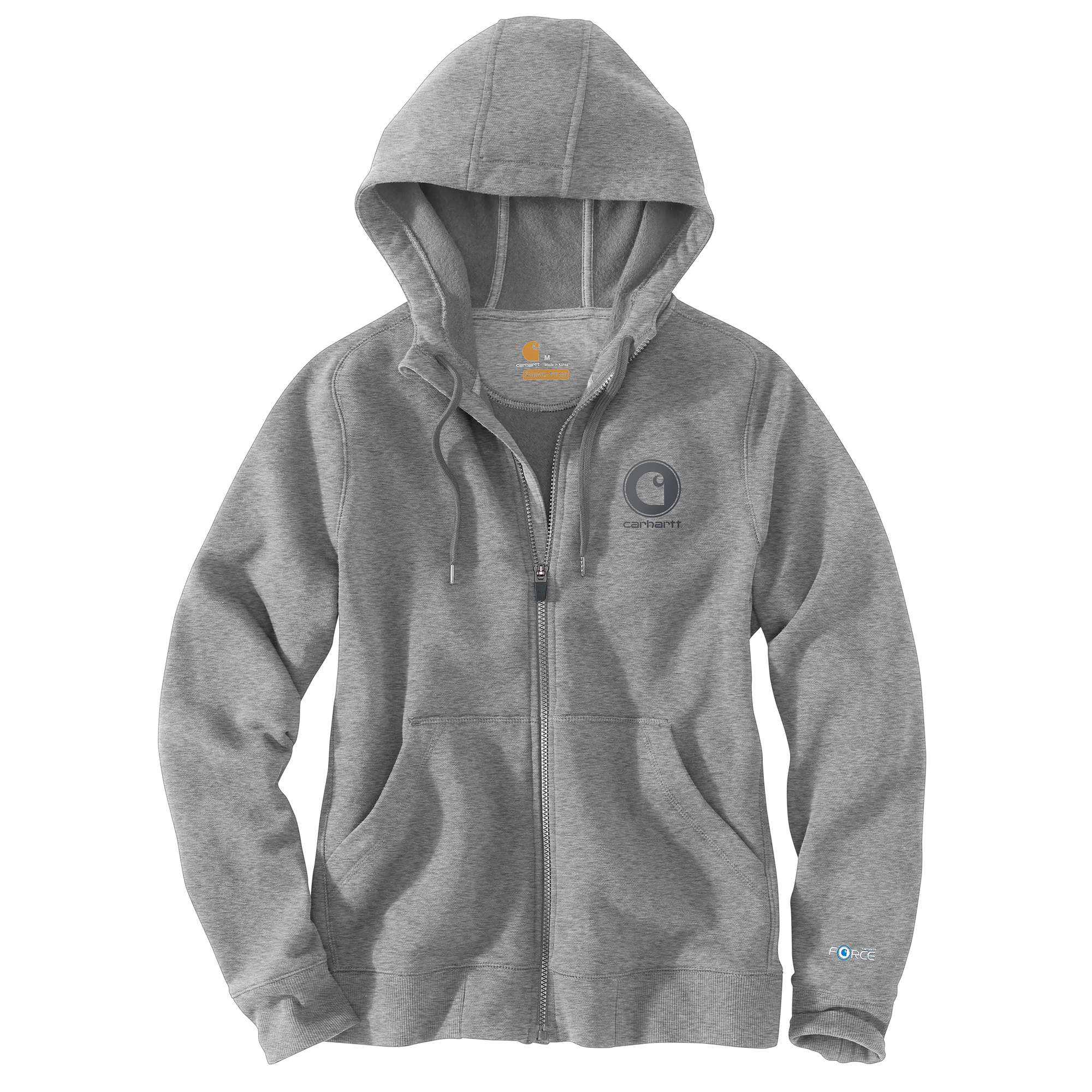 WOMEN'S FORCE DELMONT GRAPHIC ZIP-FRONT HOODED SWEATSHIRT