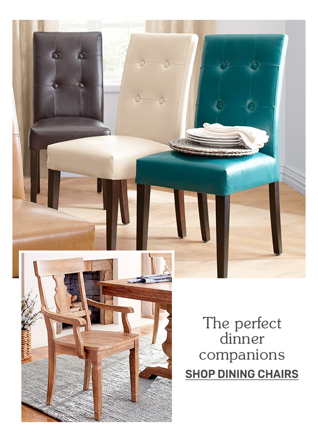 Shop dining chairs.