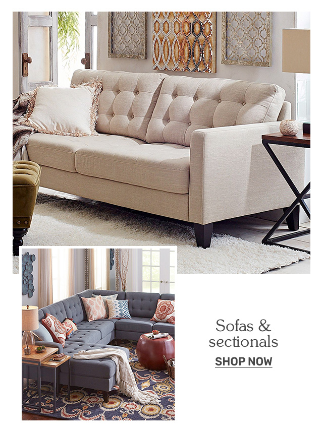 Shop sofas and sectionals.