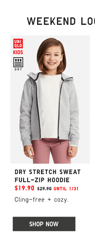 DRY STRETCH SWEAT FULL-ZIP HOODIE $19.90 - SHOP NOW