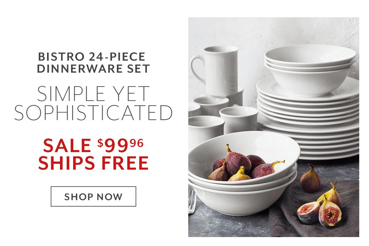 Bistro 24-PC Dinnerware Set