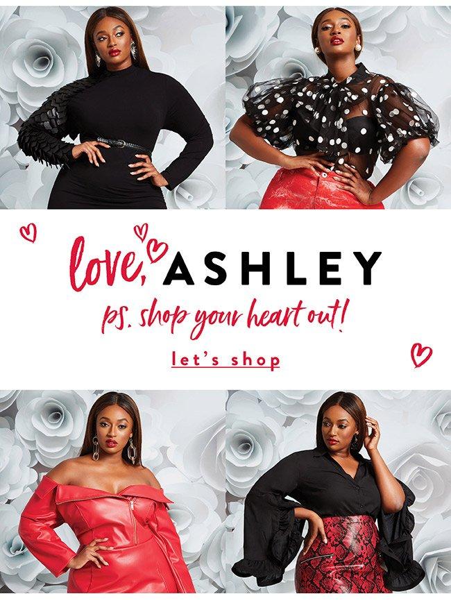 Love Ashley. Shop your heart out! - Let's Shop