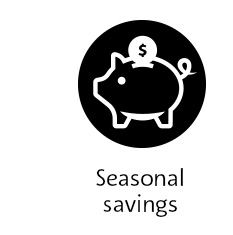 Seasonal Savings