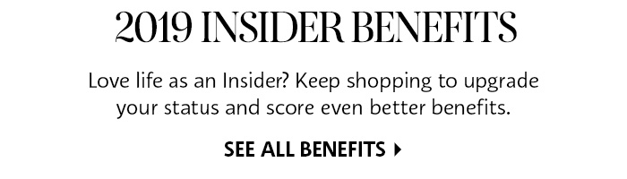 See All 2019 Beauty Insider Benefits