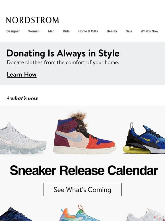 hot sneaker releases