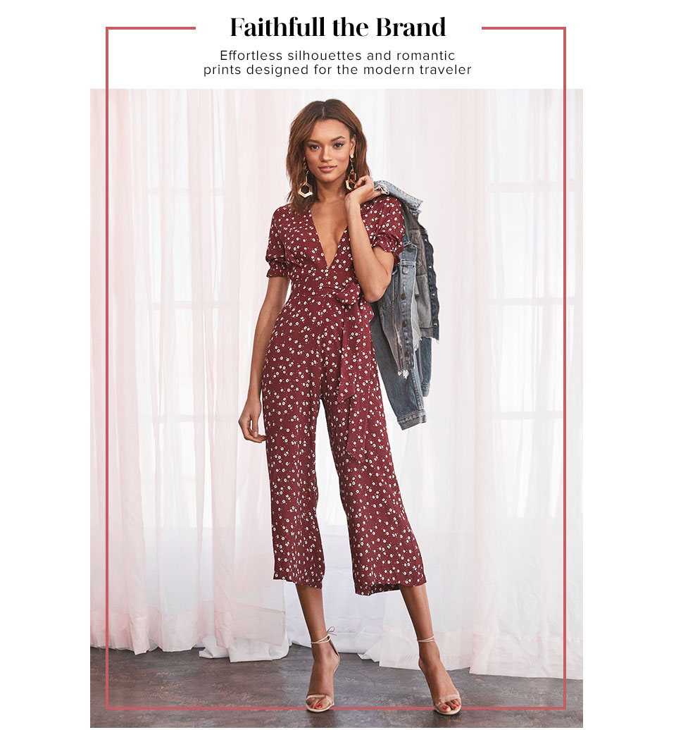 Faitfull the Brand. Effortless silhouettes and romantic prints designed for the modern traveler. Shop Faithfull the Brand