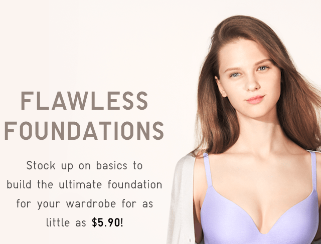 FLAWLESS FOUNDATIONS - SHOP NOW