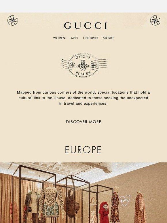 387c620924b Gucci  Presenting Gucci Places