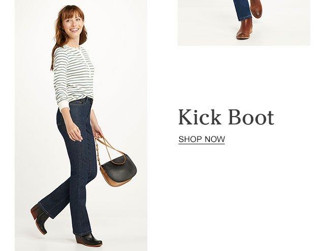 Kick-Boot.