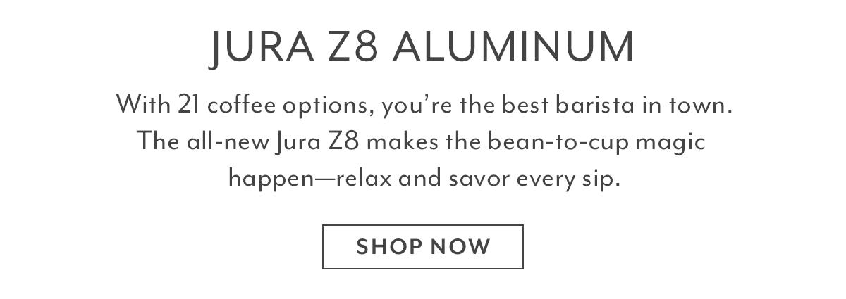 JURA Z8 Aluminum Automatic Coffee Machine