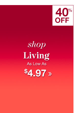 Shop Clearance Living!