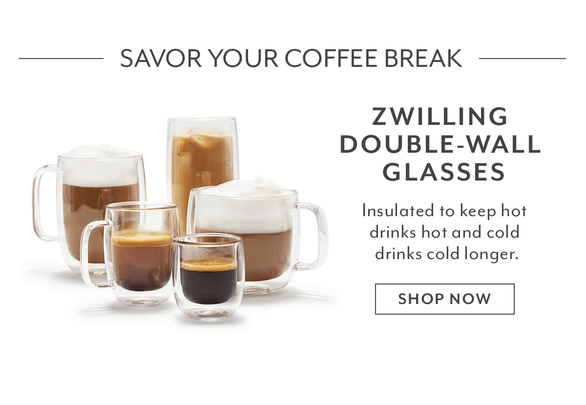 Zwilling Double-Wall Glasses