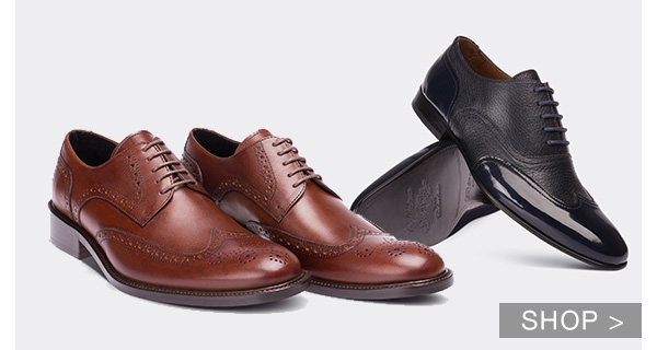 MEN'S HERITAGE LEATHER SHOES