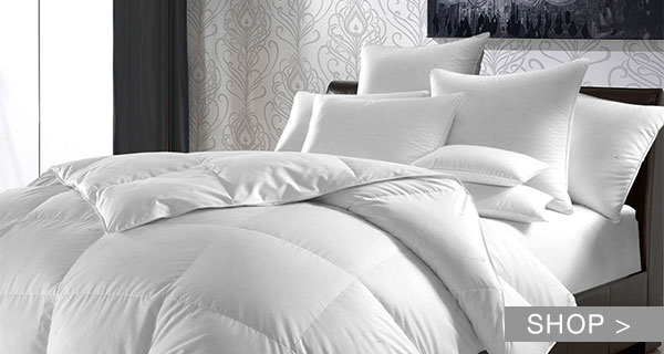 WHITE SALE: DUVETS & MORE