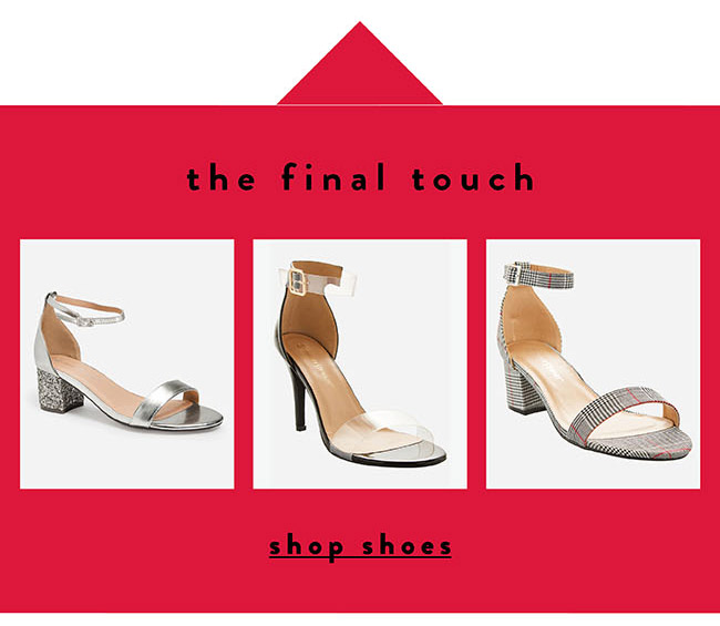 The final touch -  Shop Now