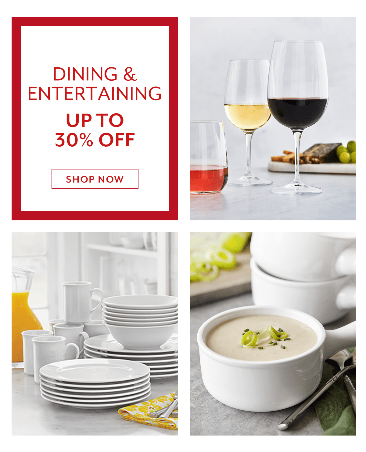 Dining and Entertaining Sale