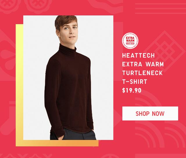 HEATTECH EXTRA WARM TURTLENECK T-SHIRT $19.90 - SHOP NOW