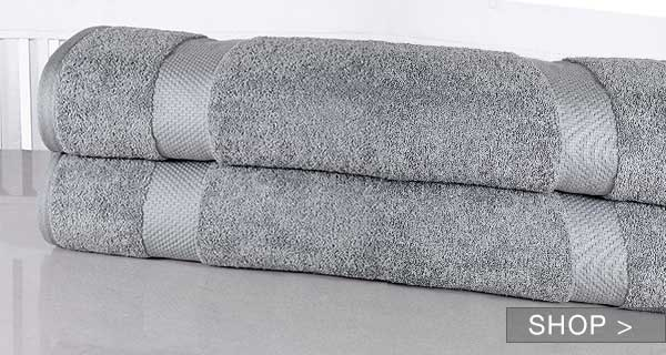 LUXURIOUS OVER-SIZED BATH TOWELS