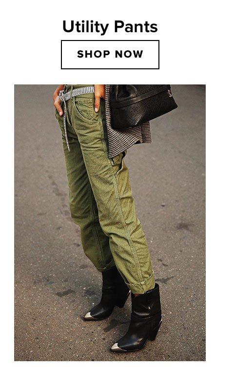 Utility Pants. Shop now.