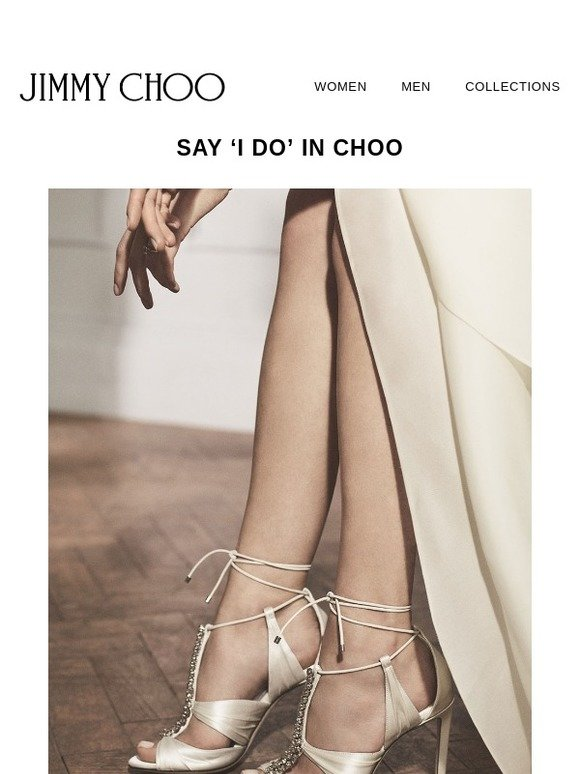 31858a1da77b JIMMY CHOO  Every bride deserves to say