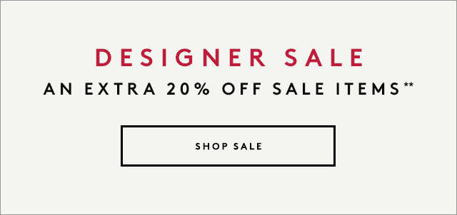 Extra 20% off sale?the most savings yet.