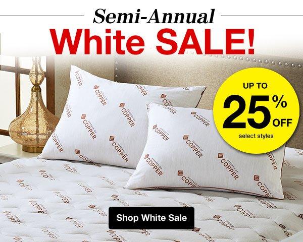 Shop Semi-Annual White Sale!