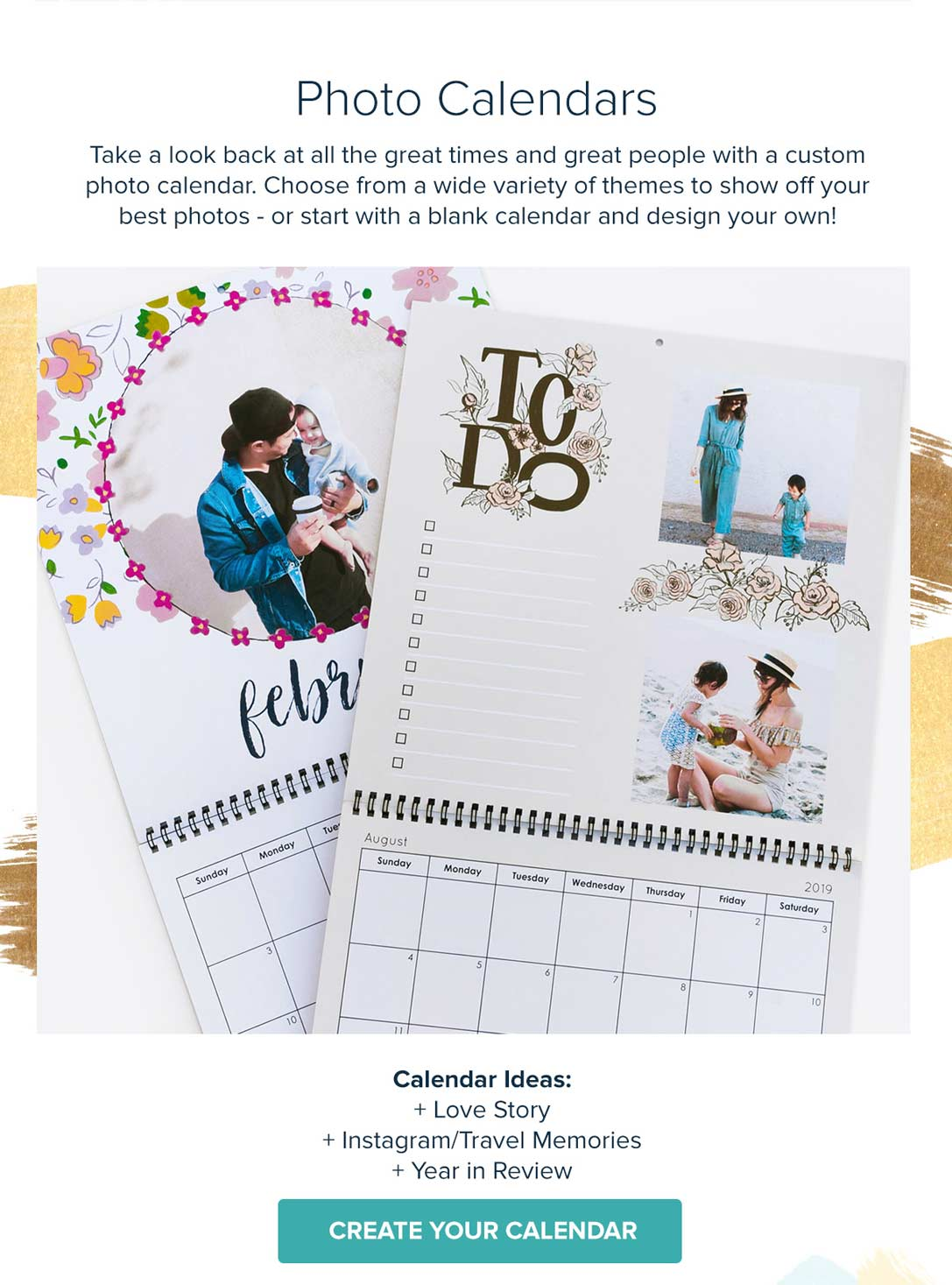 Photo Calendars for the New Year - CREATE YOUR OWN