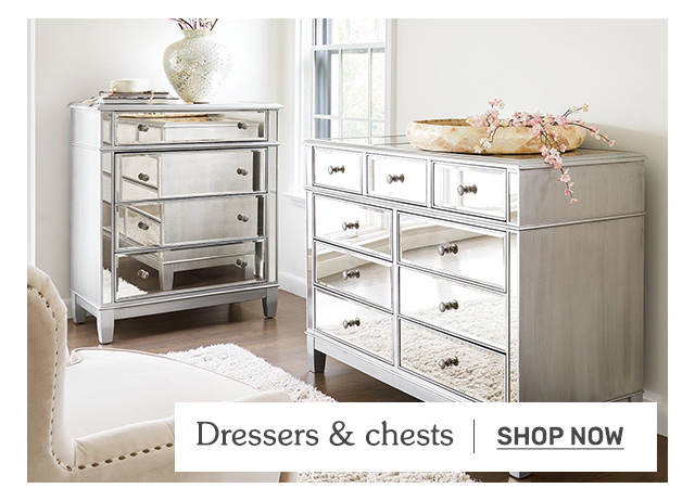 Shop dressers and chests.