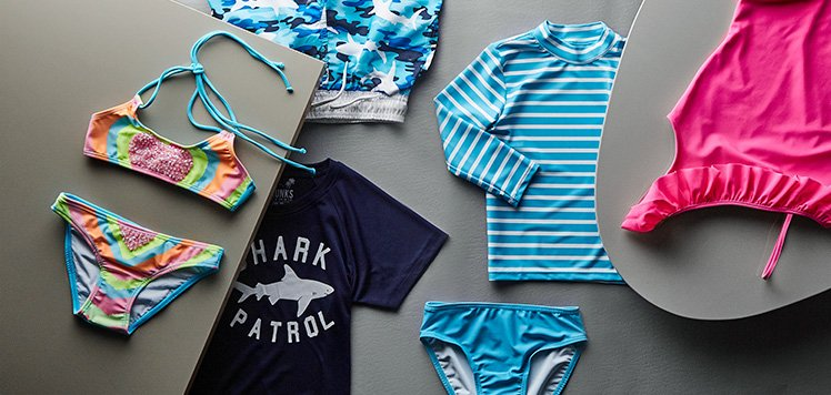 Colorful Swim for Kids