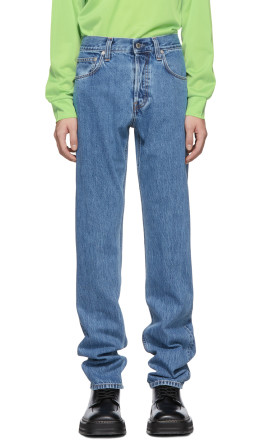 Helmut Lang - Indigo Masc Hi Straight Jeans