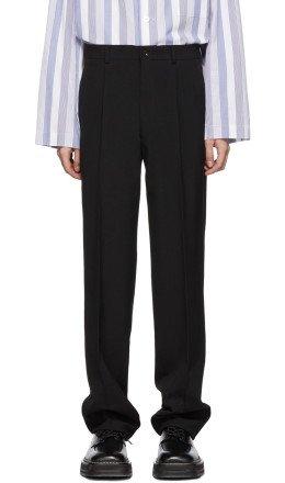 Comme des Garçons Homme Plus - Black Tropical Wool Trousers