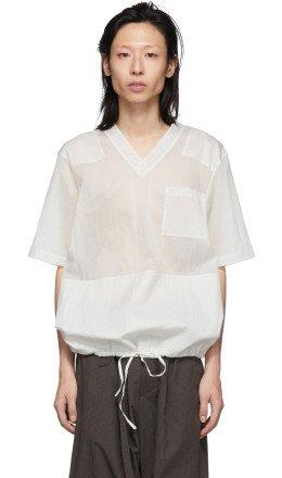 Helmut Lang - Off-White Uniform T-Shirt