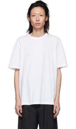 Helmut Lang - White Aviator T-Shirt
