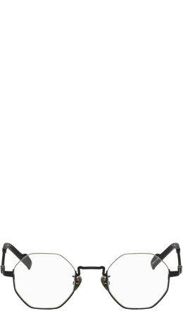Yohji Yamamoto - Black Hexagon Braided Glasses