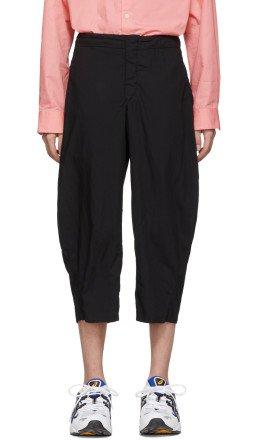 Comme des Garçons Homme Plus - Black Broadcloth Trousers