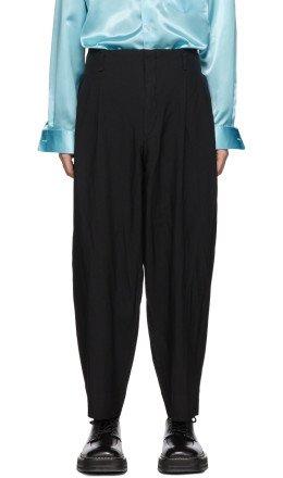 Comme des Garçons Homme Plus - Black Oxford Trousers