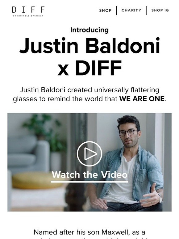 edf1c829f8 DIFF Eyewear  DIFF x JUSTIN BALDONI