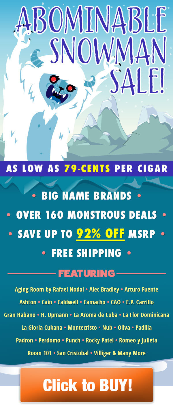 Holt's Cigar Company: 😲Monstrous Savings: Up to 92% off