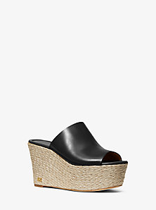 Cunningham Leather Wedge