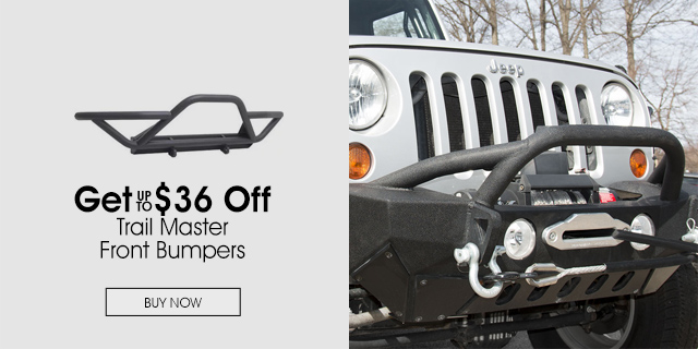Up to $36 Off Trail Master Front Bumpers