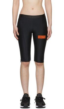 Heron Preston - Black Biker Shorts