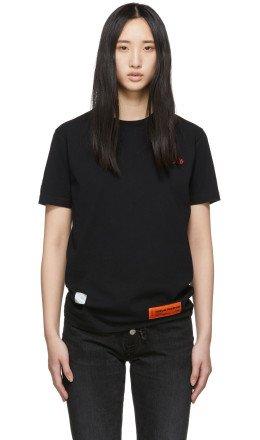 Heron Preston - Black 'Style' Regular T-Shirt
