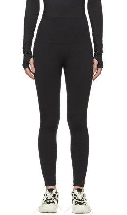 Reebok By Victoria Beckham - Black Textured Seamless Leggings