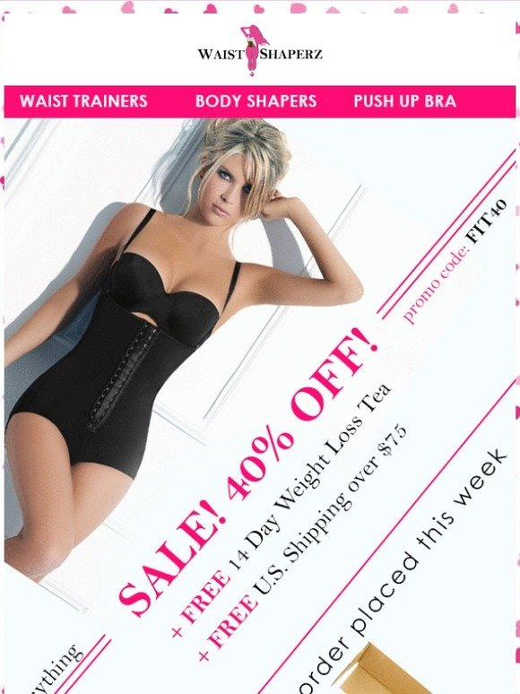 667e9ce1beafd Waist Shaperz  Wanna Look 2 Sizes Slimmer this Valentines Day ! ❤
